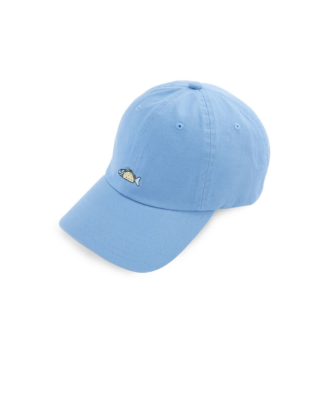 Fish Taco Logo Baseball Hat