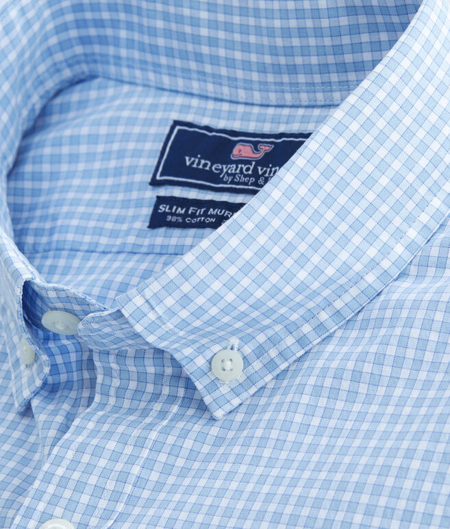 Buttonbush Check Slim Murray Shirt