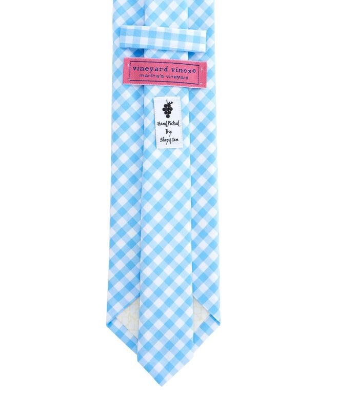 Elmont Gingham Woven Tie
