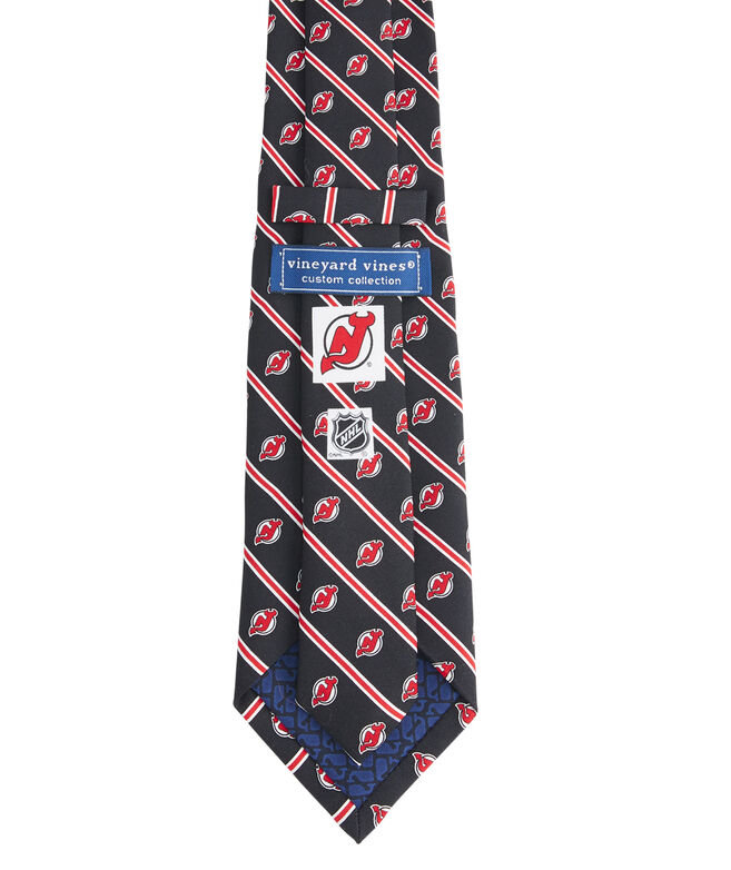 New Jersey Devils Rep Stripe Boys Tie