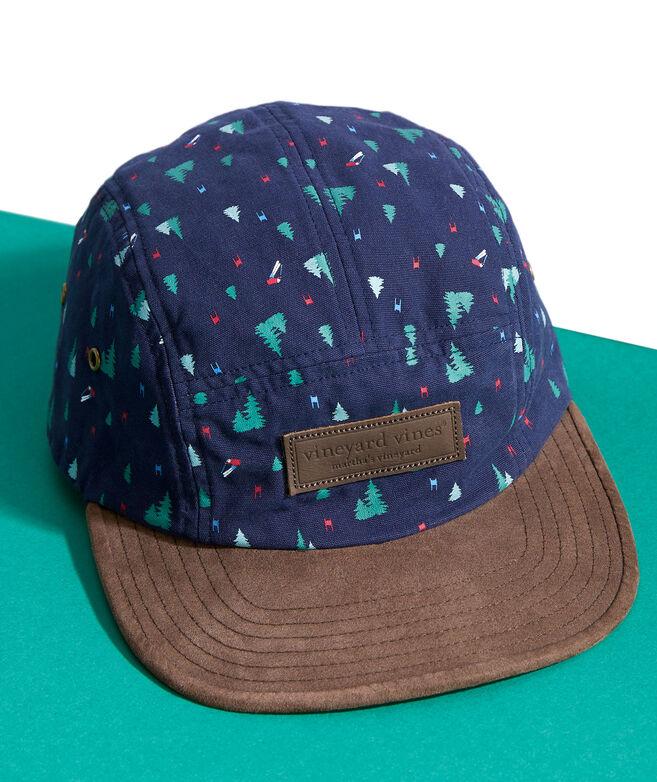 Slalom Print 5-Panel Hat