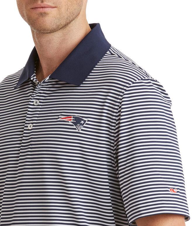 New England Patriots Porter Stripe Polo
