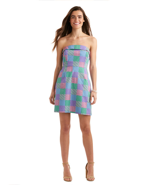 Derby Icon Patchwork Dress