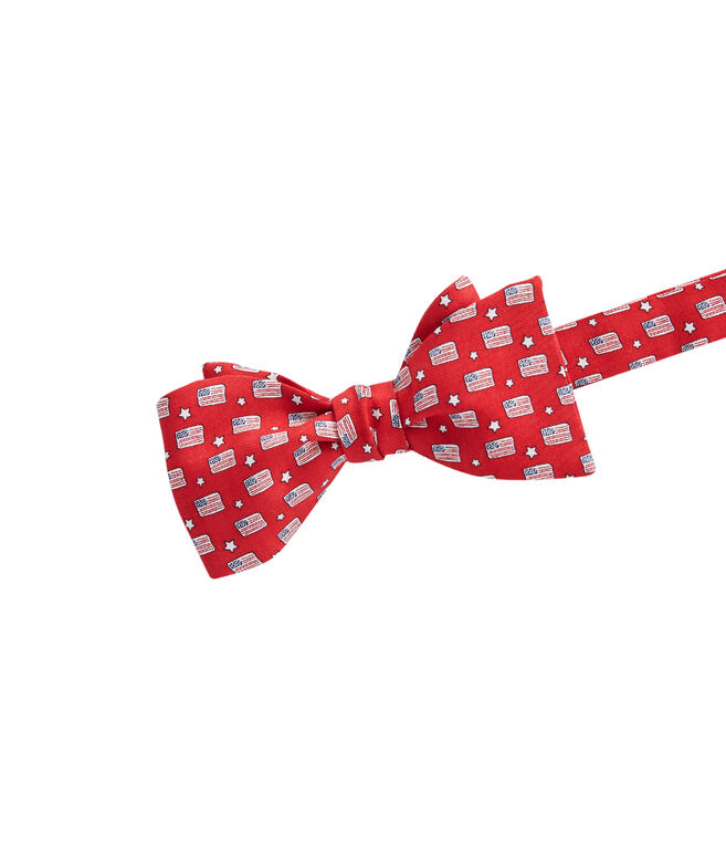 Flags & Stars Bow Tie