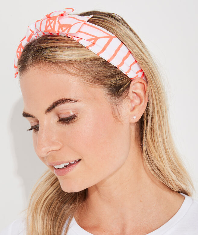 Canopy Geo Bow Headband