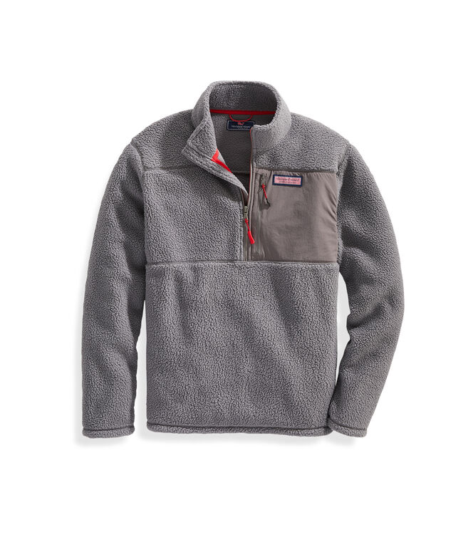 Stillwater High-Pile Sherpa 1/2-Zip