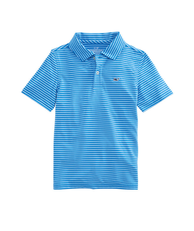 Boys Kennedy Stripe Sankaty Performance Polo