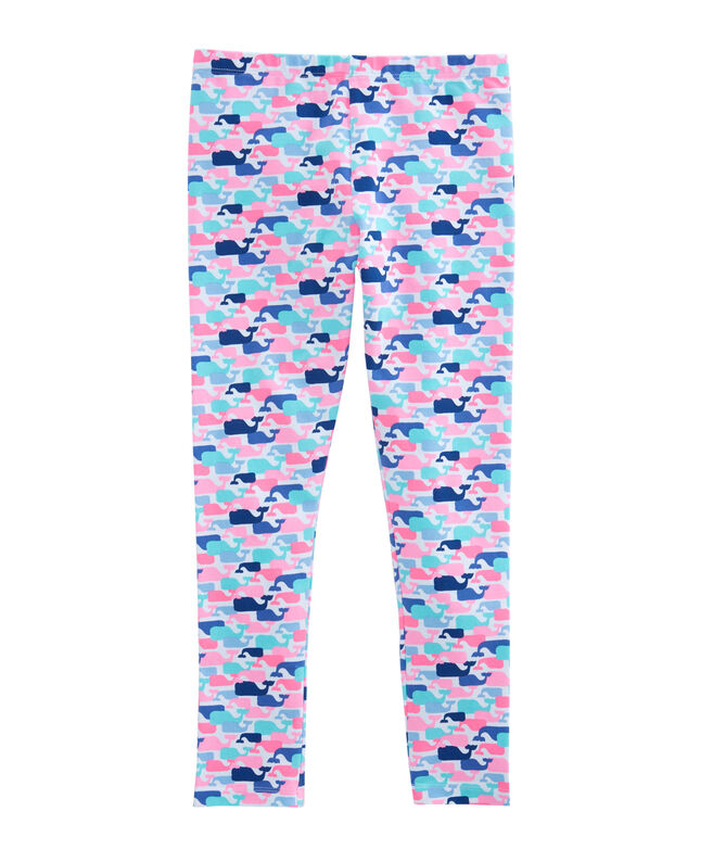 Girls Multi Whale Leggings