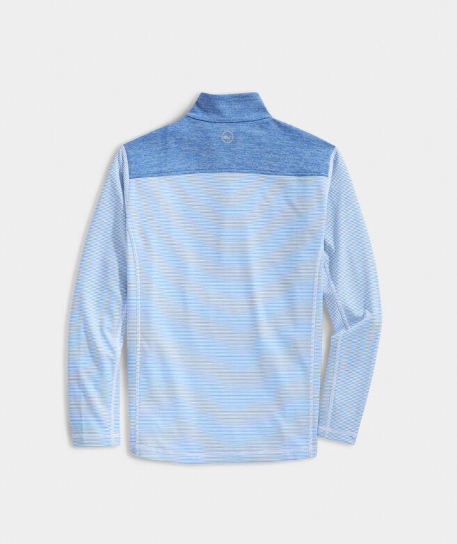 Striped Shep Shoulder Sankaty 1/2-Zip Pullover