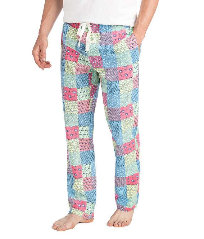Patchwork Lounge Pants