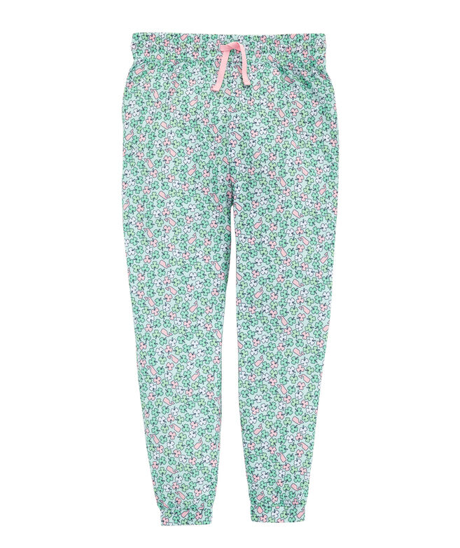 Girls' Printed Jogger
