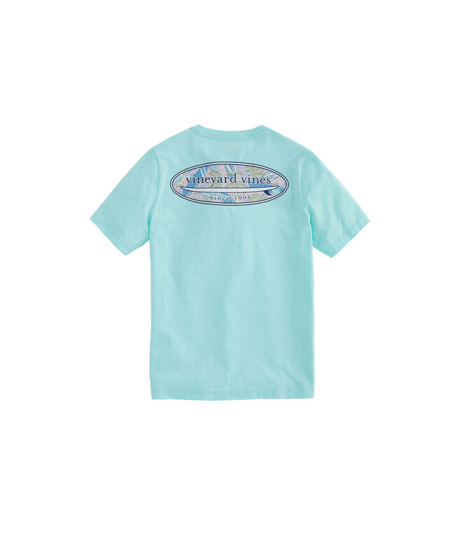 Boys Surfs Up Surf Fill Short-Sleeve Pocket T-Shirt