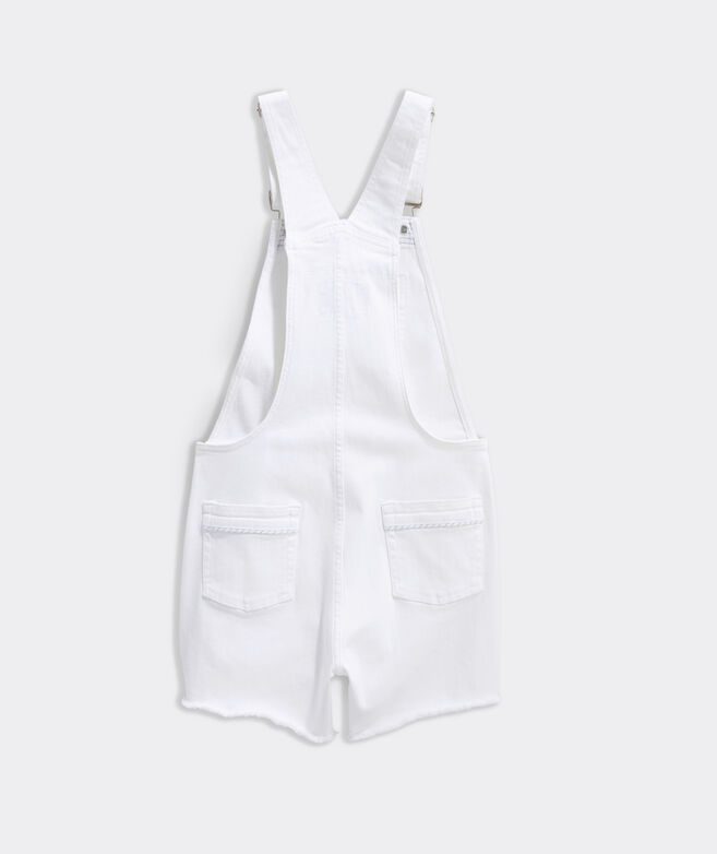 Girls' Denim Overall Shorts