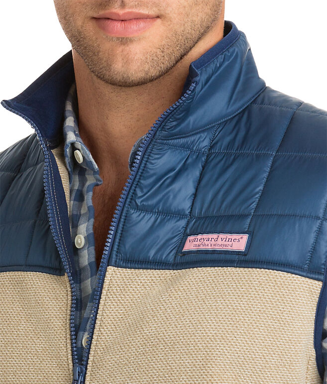 Jacquard Fleece Vest