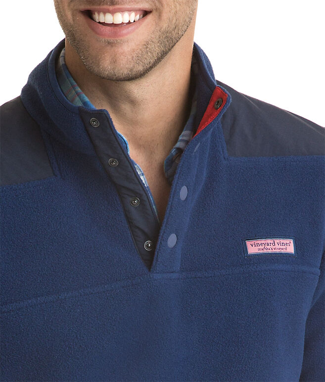 Snap Placket Fleece Shep Shirt