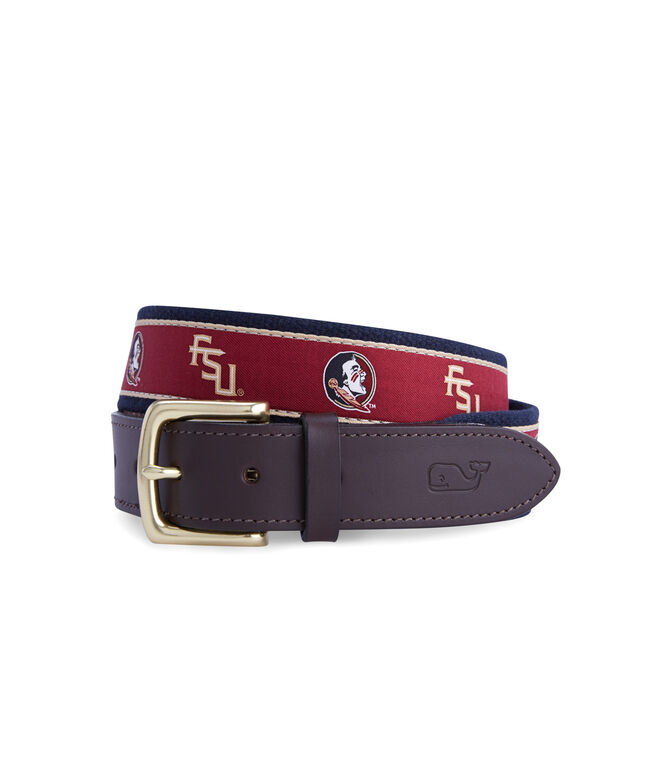 Florida State University Canvas Club Belt