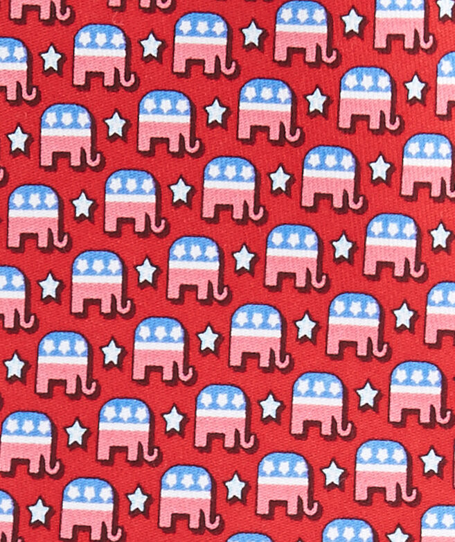 Elephants With Stars Tie
