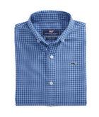 Boys Tradewinds Flannel Whale Shirt