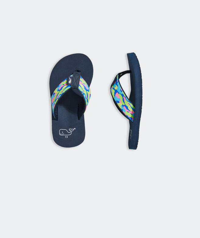 Boys' Speckled Camo Classic Flip Flop