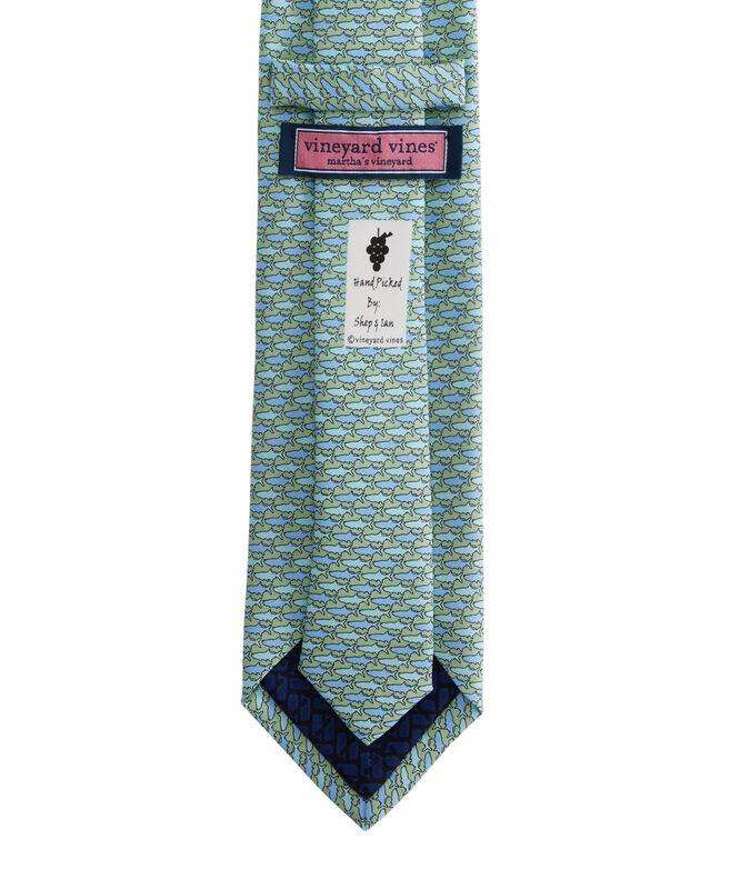 Tonal Tarpon Printed Tie