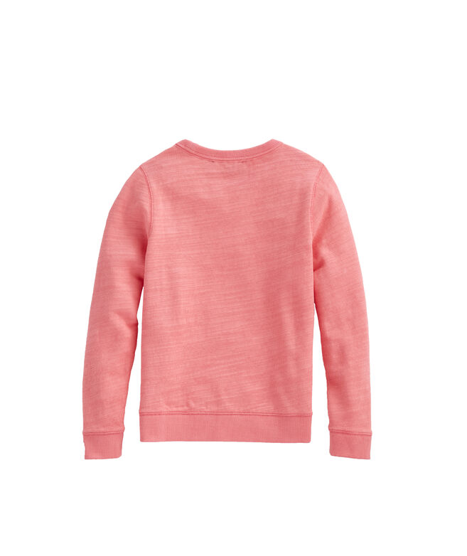 Boys' Slub Knit Crewneck Sweatshirt