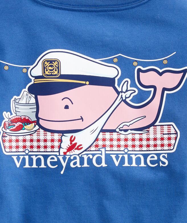 Boys Lobster Bake Whale Pocket T-Shirt