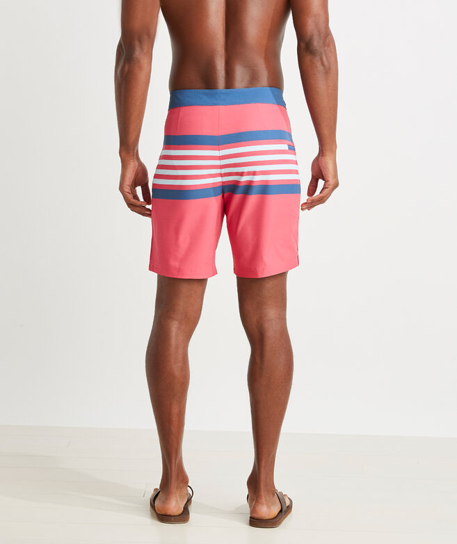 9 Inch Striped Boardshort