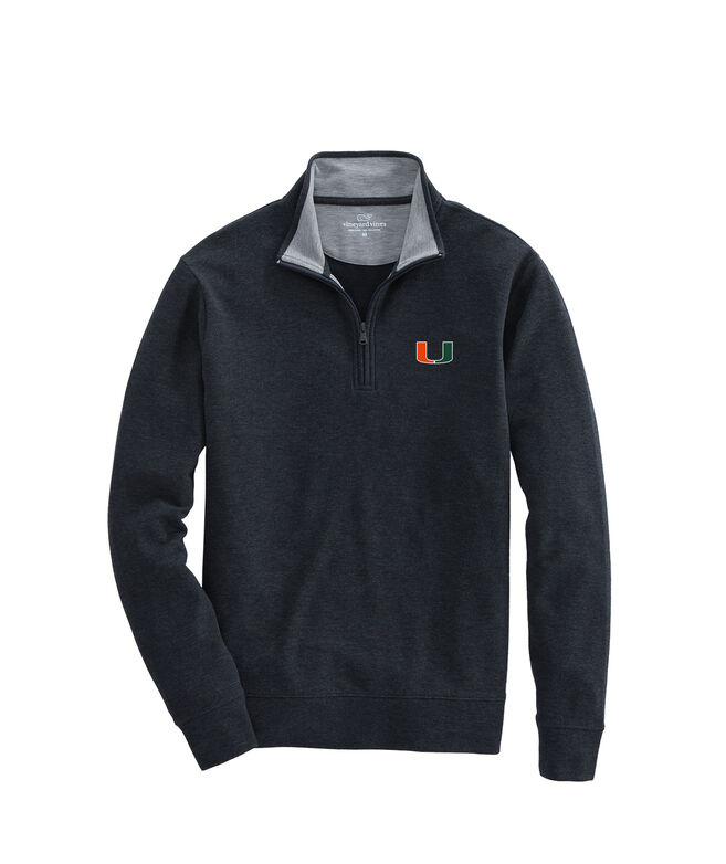 University of Miami Saltwater 1/4-Zip