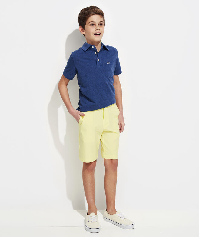 OUTLET Boys' Solid Edgartown Polo