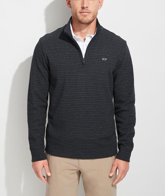Striped Saltwater 1/2-Zip Pullover