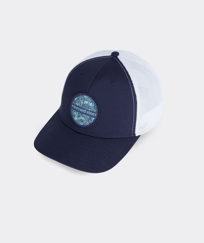 Palm Circle Performance Trucker Hat