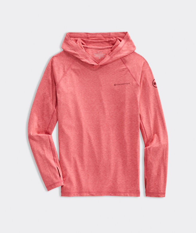Fishing Long-Sleeve Hoodie Performance Harbor Tee