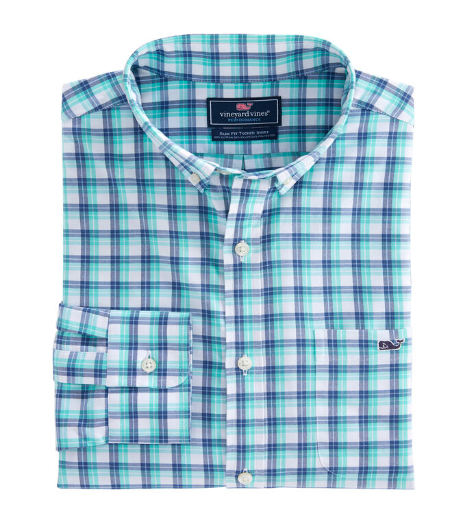 South Street Performance Slim Tucker Shirt