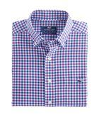 Gosmans Gingham Classic Tucker Shirt