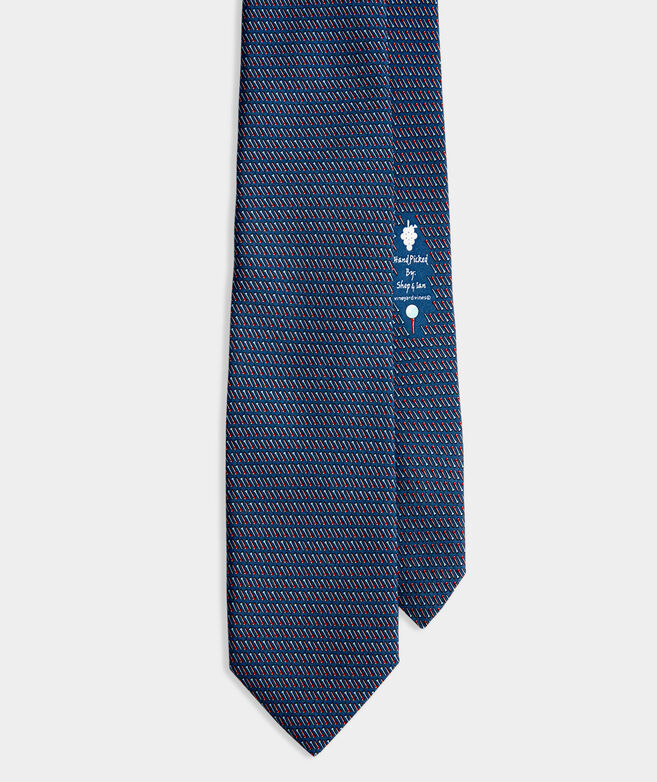 Golf Tees Printed Tie