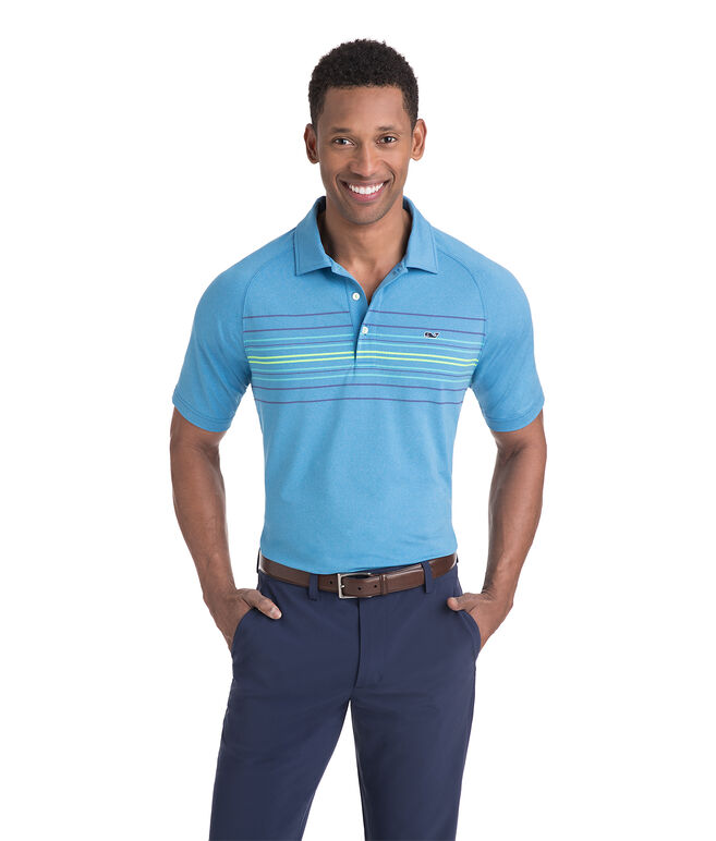 Murphy Engineer Stripe Sankaty Performance Polo