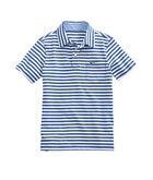 Boys Pin Stripe Jersey Polo