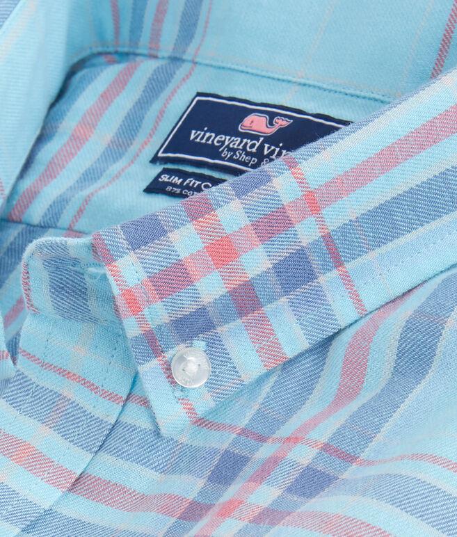 Rhoda Pond Plaid Slim Crosby Shirt