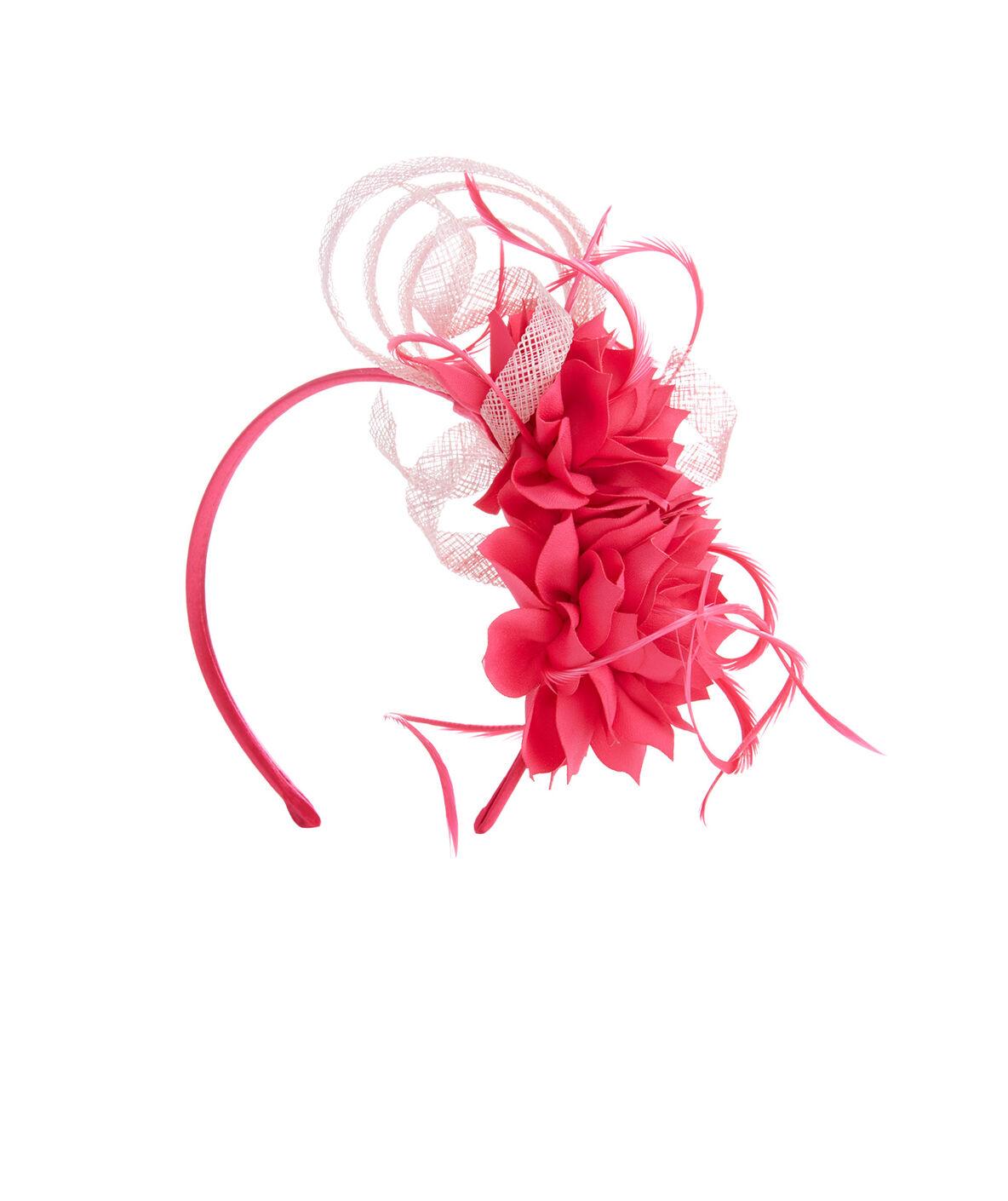 Shop Pink Floral Fascinator By Jenny Pfanenstiel At Vineyard Vines