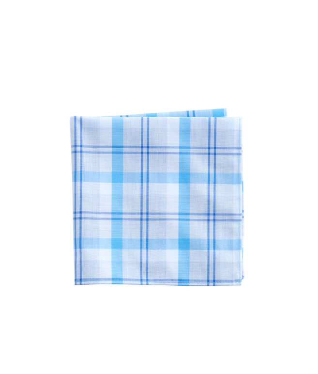 Stony Bay Plaid Pocket Square