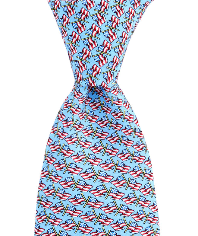 Boys Flying Flags Tie
