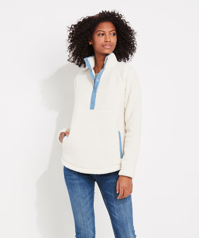 Sherpa Snap-Placket Popover