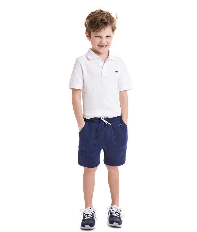 Boys Garment Dye Knit Shorts
