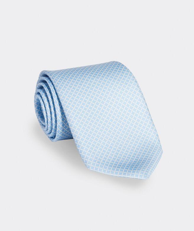 Petal Geo Printed Tie