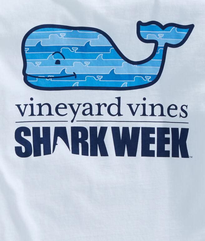 Mens Shark Week Long-Sleeve Whale Line Whale Fill T-Shirt