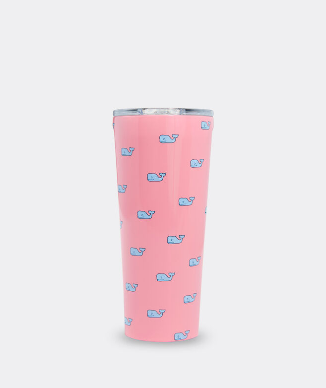 Pink Whale Corkcicle Tumbler
