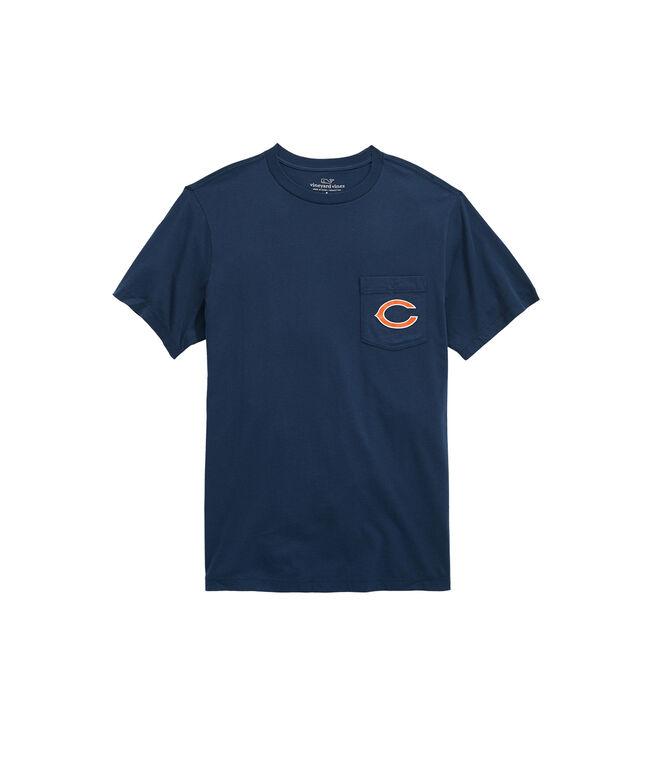 Chicago Bears Block Stripe T-Shirt