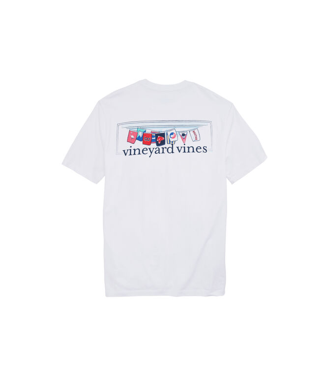 Boston Red Sox Flag Bar T-Shirt