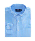 Seaglass Gingham Performance Classic Murray Shirt