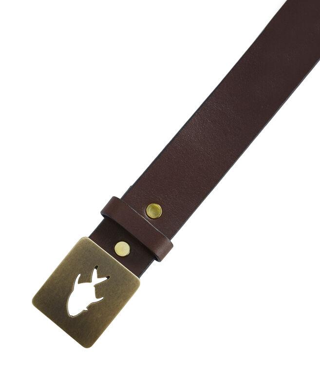 Permit Cutout Buckle Belt